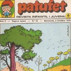 Tebeos: PATUFET - ANY 3 - SEGONA ÈPOCA ANY 1970 N 49. Lote 66493774