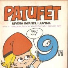 Tebeos: PATUFET - ANY 3 - SEGONA ÈPOCA ANY 1970 N 55. Lote 66493938