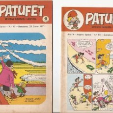 Tebeos: PATUFET - ANY 4 - SEGONA ÈPOCA ANY 1971 N 56-57. Lote 66772658