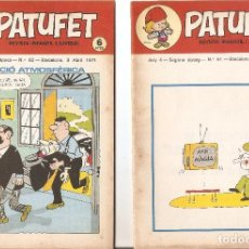 Tebeos: PATUFET - ANY 4 - SEGONA ÈPOCA ANY 1971 N 61 - 62. Lote 66772934