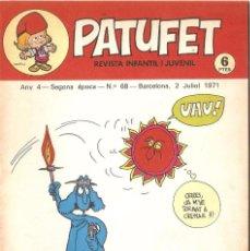 Tebeos: PATUFET - ANY 4 - SEGONA ÈPOCA ANY 1971 N 68. Lote 66773402