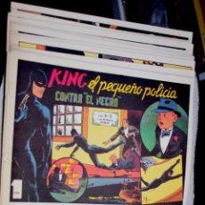 Tebeos: X-3 Y SU PATRULLA SECRETA /KING, EL PEQUEÑO POLICIA - COLECCION COMPLETA DE 28 EJEMPLARES,. Lote 67174285