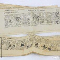 Tebeos: ANTIGUA HISTORIETA - RATÓN MIGUELÍN / MICKEY MOUSE. HAZAÑAS DE UN ELEFANTE - LA VANGUARDIA, AÑOS 30. Lote 67407581