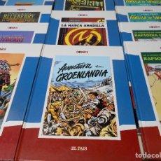 Tebeos: COMICS EL PAIS. LOTE DE 11 COMICS EN TAPA DURA. COLOR. 4100 GRAMOS. BLUEBERRY. MORTADELO. THE SPIRIT. Lote 68069241