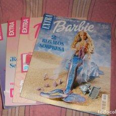 Tebeos: LOTE DE 4 EXTRAS DE LAS AVENTURAS DE BARBIE. Lote 69453205