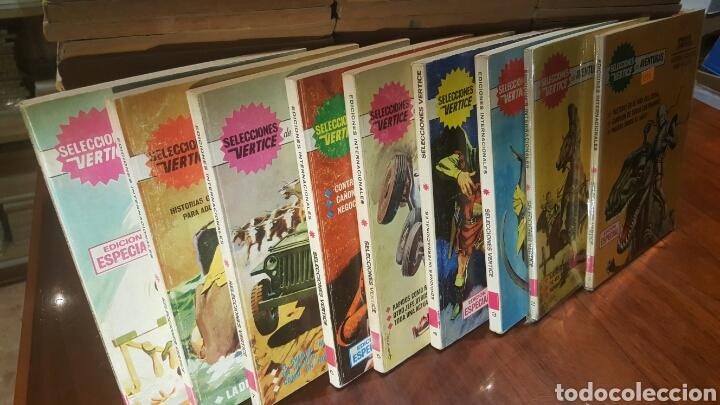 SUELTOS PREGUNTAR - COLECCION COMPLETA SELECCIONES VERTICE MUY BUEN ESTADO (Tebeos y Comics - Tebeos Colecciones y Lotes Avanzados)