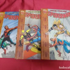 Tebeos: SPIDERMAN. STAN LEE. STEVE DITKO. COMPLETA. 3 TOMOS. DEL Nº 1 AL Nº 3. FORUM.. Lote 71036889