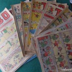 Tebeos: T.B.O. LOTE DE 12 NUMEROS EDITORIAL BIUGAS. Lote 71163565