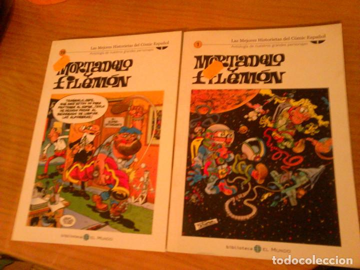 MORTADELO Y FILEMON - LOTE DE DOS (Tebeos y Comics - Tebeos Pequeños Lotes de Conjunto)