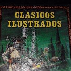 Tebeos: CLÁSICOS ILUSTRADOS, 6 TOMOS ENCUADERNACIÓN DURA. Lote 72116635
