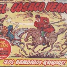Tebeos: COLECCION COMPLETA EL COSACO VERDE 144 EJEMPLARES ORIGINAL EDITORIAL BRUGUERA . Lote 72804743