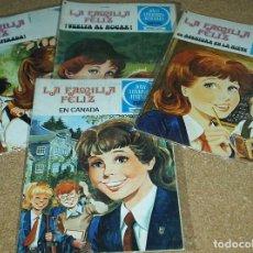 Tebeos: LA FAMILIA FELIZ BRUGUERA 1978 LOTE CON Nº 4 DE 2ª ED. Y 8, 18, 21 DE LA 1ª. Lote 73465055