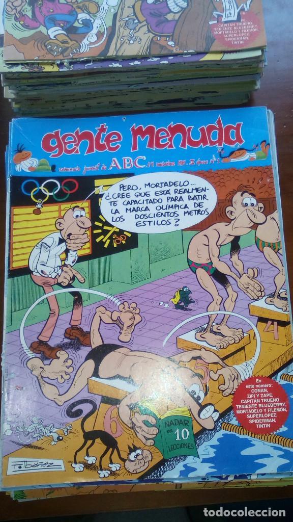 Tebeos: LOTE DE 285 COMICS DE GENTE MENUDA - Semanario Juvenil de ABC - III época - Foto 3 - 73470779