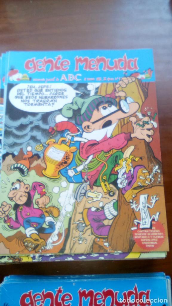 Tebeos: LOTE DE 285 COMICS DE GENTE MENUDA - Semanario Juvenil de ABC - III época - Foto 4 - 73470779