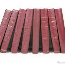 Tebeos: 7252 - TBO. 8 VOLUM. 95 EJEM. VV. AA(VER DESCRIP). EDI. B GRUPO ZETA. 1988-1995.. Lote 54737178