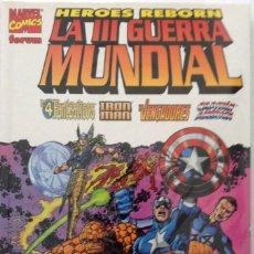 Tebeos: HEROES REBORN. III GUERRA MUNDIAL. FINAL SAGA HEROES REBORN.. Lote 74196123