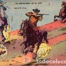 Tebeos: WINCHESTER JIM. AÑO 1.955. COLECCIÓN COMPLETA DE 36. TEBEOS. ORIGINALES MUY NUEVOS. Lote 74218227
