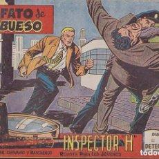 Tebeos: INSPECTOR H, AÑO 1.961. COLECCIÓN COMPLETA DE 34. TEBEOS ORIGINALES.. Lote 74221131