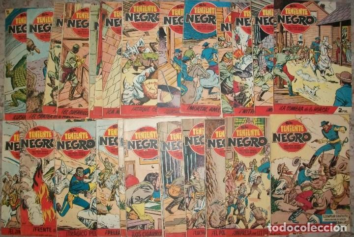 EL TENIENTE NEGRO (BRUGUERA) COMPLETA 30 NUMEROS (Tebeos y Comics - Tebeos Colecciones y Lotes Avanzados)