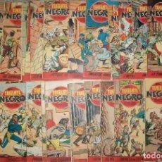 Tebeos: EL TENIENTE NEGRO (BRUGUERA) COMPLETA 30 NUMEROS. Lote 75841775