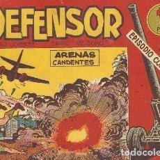 Tebeos: EL DEFENSOR, AÑO 1.962. COLECCIÓN COMPLETA DE 26. TEBEOS ORIGINALES, NUEVOS EDITORIAL MAGA.. Lote 77701273