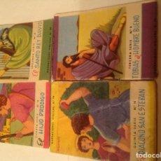 Tebeos: 4 MINI-LIBRITOS. NARRACIONES BÍBLICAS DE 1962 DE EDITORIAL ROMA. Lote 78455397