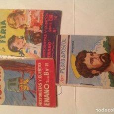 Tebeos: 3 LIBRITOS DE EDITORIAL ROMA DE 1961. Lote 78456917