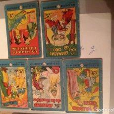 Tebeos: 5 MINICUENTOS DE LA COLECCIÓN BLANCANIEVES DE 1959 PROPAGANDA DE RATIMOR.. Lote 78458729