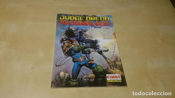 JUDGE DREDD - TOLERANCIA CERO (Tebeos y Comics - Tebeos Colecciones y Lotes Avanzados)