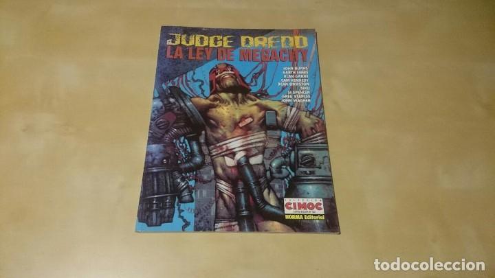 JUDGE DREDD - LA LEY DE MEGACITY (Tebeos y Comics - Tebeos Colecciones y Lotes Avanzados)