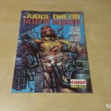 Tebeos: JUDGE DREDD - LA LEY DE MEGACITY. Lote 79073285
