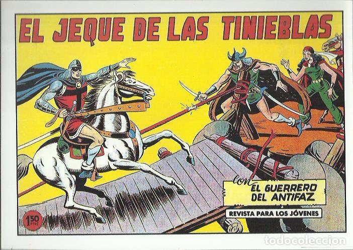 Tebeos: EL GUERRERO DEL ANTIFAZ ( COMIC-MAN ) AÑO 1980 ? LOTE - Foto 3 - 26874139