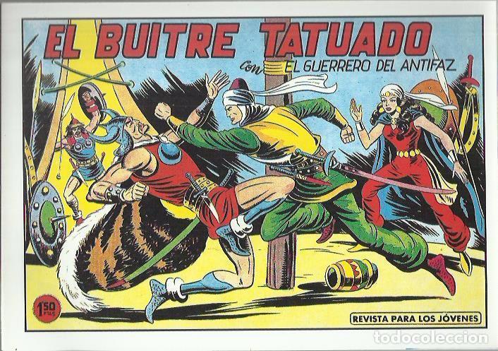 Tebeos: EL GUERRERO DEL ANTIFAZ ( COMIC-MAN ) AÑO 1980 ? LOTE - Foto 4 - 26874139