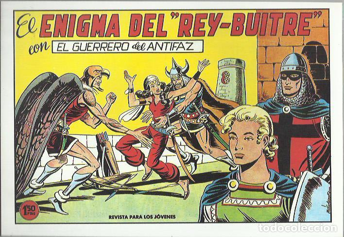 Tebeos: EL GUERRERO DEL ANTIFAZ ( COMIC-MAN ) AÑO 1980 ? LOTE - Foto 6 - 26874139
