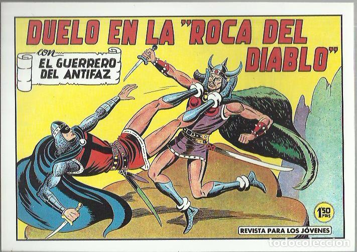 Tebeos: EL GUERRERO DEL ANTIFAZ ( COMIC-MAN ) AÑO 1980 ? LOTE - Foto 7 - 26874139