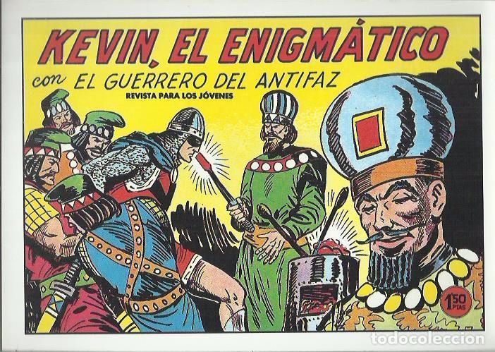 Tebeos: EL GUERRERO DEL ANTIFAZ ( COMIC-MAN ) AÑO 1980 ? LOTE - Foto 8 - 26874139
