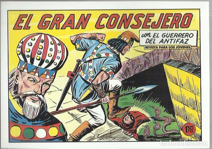 Tebeos: EL GUERRERO DEL ANTIFAZ ( COMIC-MAN ) AÑO 1980 ? LOTE - Foto 11 - 26874139