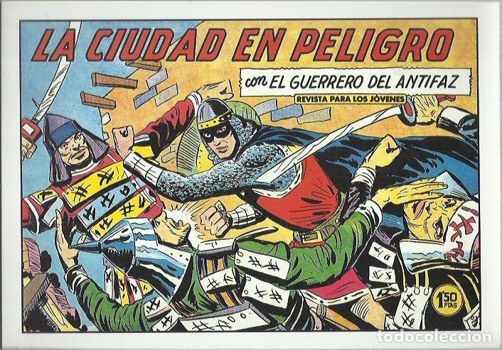 Tebeos: EL GUERRERO DEL ANTIFAZ ( COMIC-MAN ) AÑO 1980 ? LOTE - Foto 13 - 26874139