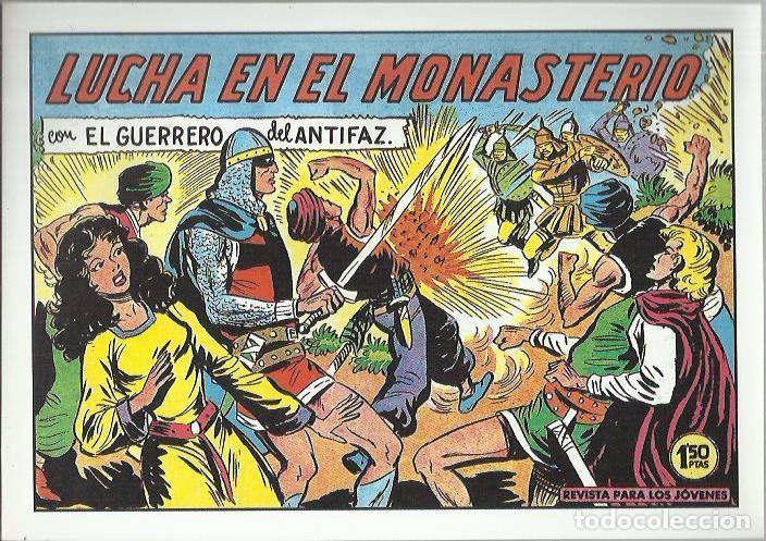 Tebeos: EL GUERRERO DEL ANTIFAZ ( COMIC-MAN ) AÑO 1980 ? LOTE - Foto 14 - 26874139