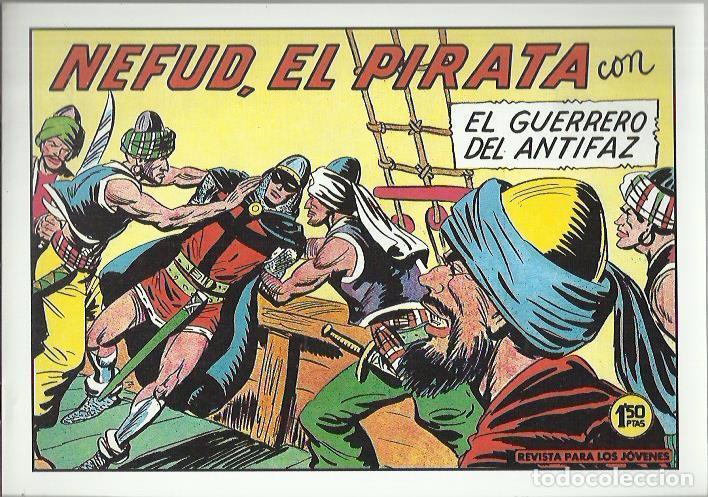Tebeos: EL GUERRERO DEL ANTIFAZ ( COMIC-MAN ) AÑO 1980 ? LOTE - Foto 15 - 26874139