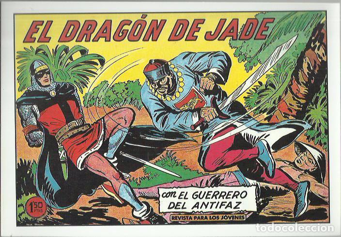 Tebeos: EL GUERRERO DEL ANTIFAZ ( COMIC-MAN ) AÑO 1980 ? LOTE - Foto 16 - 26874139