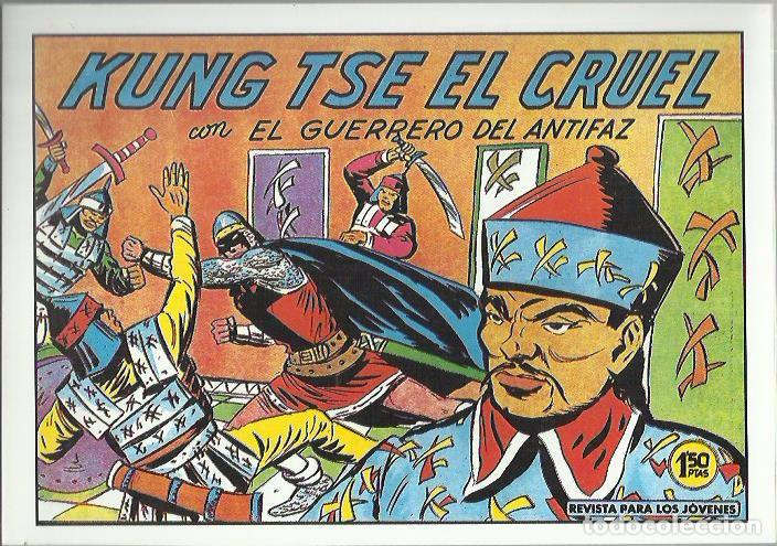 Tebeos: EL GUERRERO DEL ANTIFAZ ( COMIC-MAN ) AÑO 1980 ? LOTE - Foto 17 - 26874139