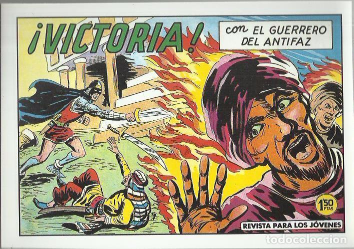 Tebeos: EL GUERRERO DEL ANTIFAZ ( COMIC-MAN ) AÑO 1980 ? LOTE - Foto 18 - 26874139
