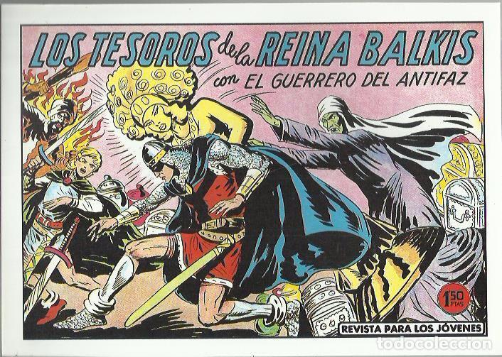 Tebeos: EL GUERRERO DEL ANTIFAZ ( COMIC-MAN ) AÑO 1980 ? LOTE - Foto 20 - 26874139