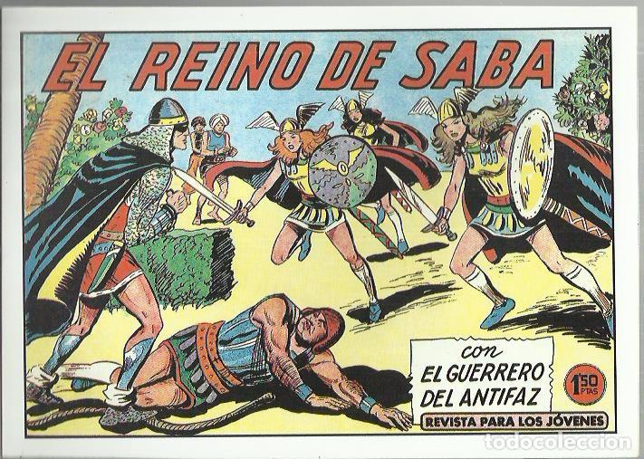 Tebeos: EL GUERRERO DEL ANTIFAZ ( COMIC-MAN ) AÑO 1980 ? LOTE - Foto 21 - 26874139
