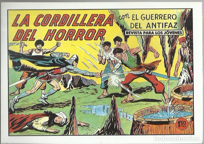 Tebeos: EL GUERRERO DEL ANTIFAZ ( COMIC-MAN ) AÑO 1980 ? LOTE - Foto 22 - 26874139