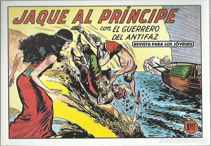 Tebeos: EL GUERRERO DEL ANTIFAZ ( COMIC-MAN ) AÑO 1980 ? LOTE - Foto 23 - 26874139