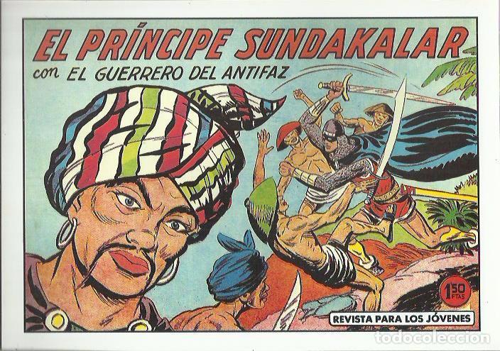 Tebeos: EL GUERRERO DEL ANTIFAZ ( COMIC-MAN ) AÑO 1980 ? LOTE - Foto 24 - 26874139