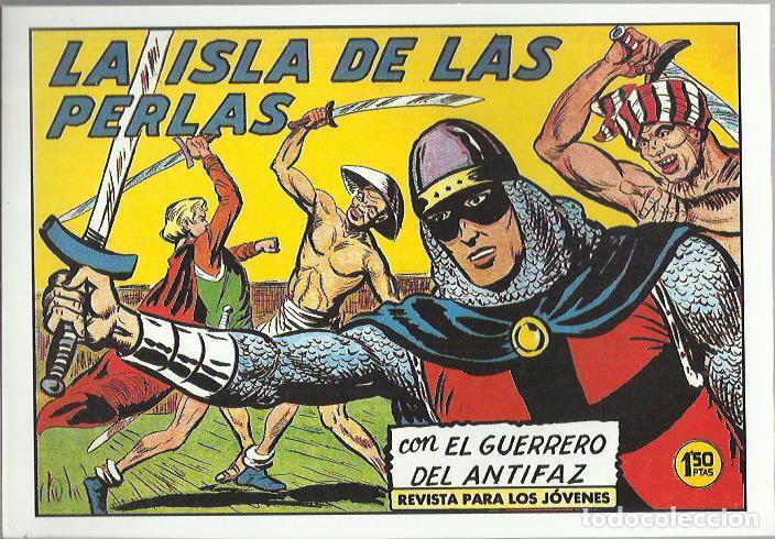 Tebeos: EL GUERRERO DEL ANTIFAZ ( COMIC-MAN ) AÑO 1980 ? LOTE - Foto 25 - 26874139