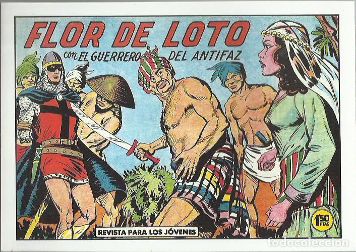 Tebeos: EL GUERRERO DEL ANTIFAZ ( COMIC-MAN ) AÑO 1980 ? LOTE - Foto 26 - 26874139